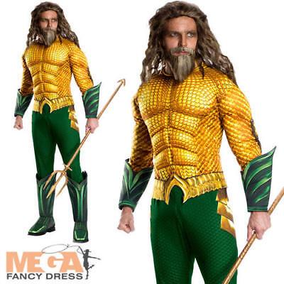 Fancy Dress DC Comic Film Superhero Adults Costume Outfit  (Dc-comic Kostüme)
