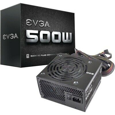 EVGA 500W 80Plus Power Supply Unit