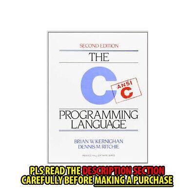 FAST SHIP: The C Programming Language 2E by Dennis M.