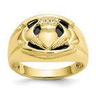 Claddagh Yellow Rings for Men