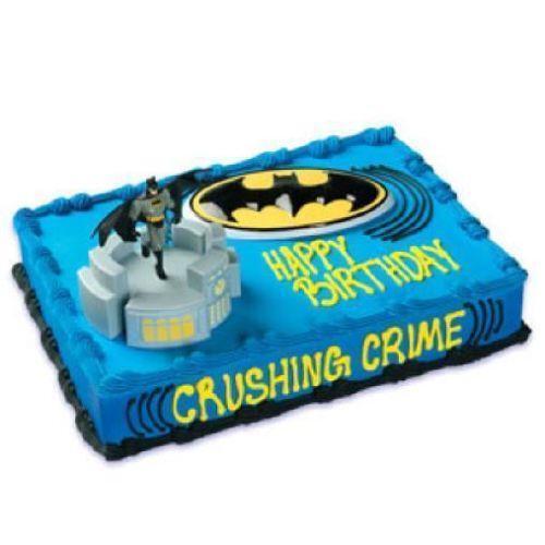 Batman Cake Topper Ebay