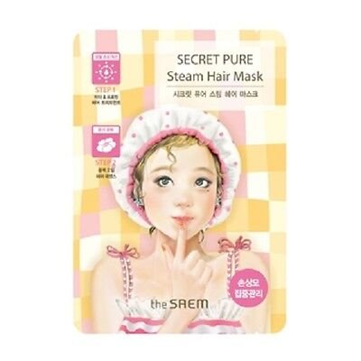 [THE SAEM] Secret Pure Steam Hair Mask (15g + 5g) / Korea Cosmetic