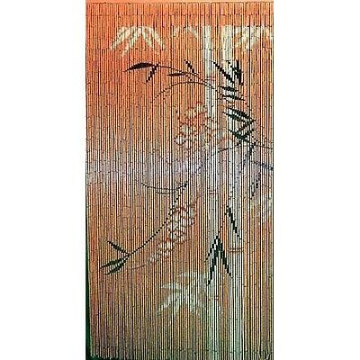 Bamboo Beaded Hanging Curtain Divider Room Wall Doorway Patio Porch Panel Art ()