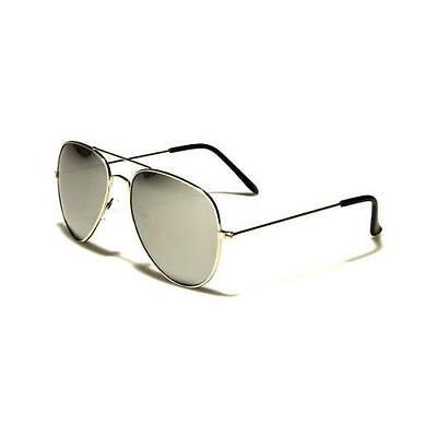 Silver Polarized Sunglasses Driving Aviator