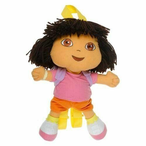 "Dora the Explorer Doll Pillow 16.5"" Plush Backpack by Nick Jr"