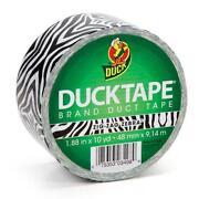 Zebra Duct Tape