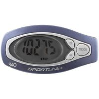 NEW Sportline 340 Step and Distance Pedometer