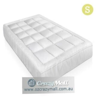 Bamboo Pillowtop Mattress Topper 1000GSM S/KS/D/Q/K