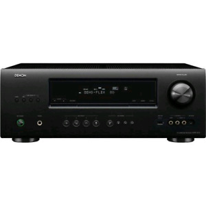 Denon AVR-1612 Home theater receiver with 3D-ready HDMI switchin