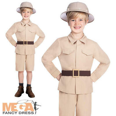 Safari Explorer Boys Fancy Dress Jungle Zoo Keeper - Zoo Keeper Outfit