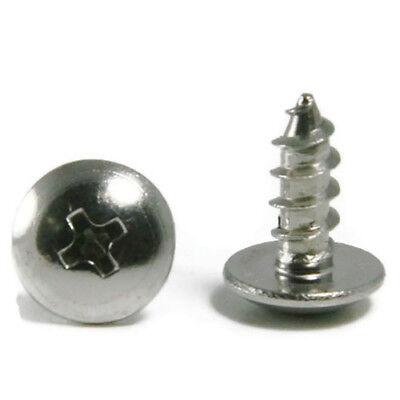 Sheet Metal Screws Stainless Steel Phillips Truss Head 14 X 34 Qty 250