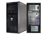 Dell OptiPlex 780, Core-2-Duo, 4GB RAM, OFFICE 2013, Anti-Virus