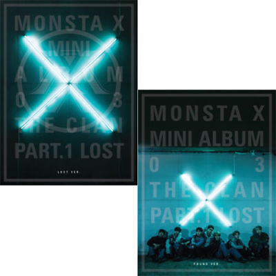 MONSTA X [THE CLAN 2.5 PART.1 LOST] 3rd Mini Album RANDOM CD+Buch+Karte SEALED