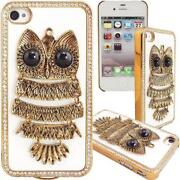 3D Owl iPhone 4 Case