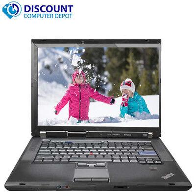 "Lenovo ThinkPad 15.6"" Laptop Computer Core 2 Duo 4GB 250GB Windows 10 Home Wifi"