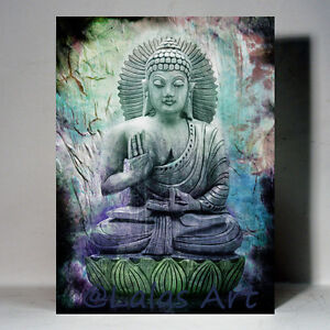 colorful Buddha paintings for sale by Artist