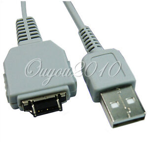 USB Cable For Sony Cyber-Shot DSC-W50 W55 W70 W80 W90 W30 W35 W100 W120 W130 UK