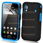 Samsung Galaxy Ace Silicone Case Blue