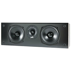 Polk Audio T30 100-Watt 2-Way Center Channel Speaker - Black