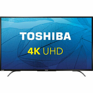 "55"" Toshiba 4k UHD LED HDTV with Chromecast"