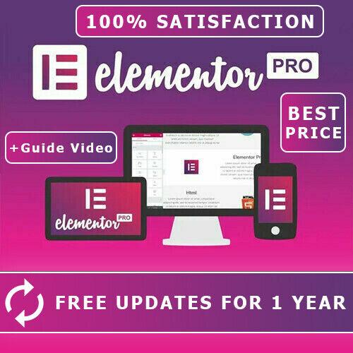 Elementor + Elementor PRO WordPress Page Builder 300+ Pro Templates 90+ Widgets