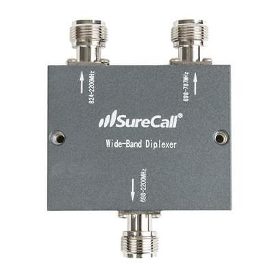 SureCall Diplexer  for All Cellular devices - Black