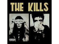 For sale - 2 standing tickets for The Kills - Rock City, Nottingham - Sun 2 Oct