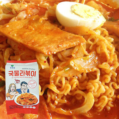 Gangwon, Rabokki, Spicy rice cake with Ramen Noodles + Free Shin Ramyun