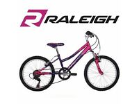 "Raleigh / Extreme Kraze 20"" Mountain Bike - Girls - Pink and Black - (20"" Frame)"