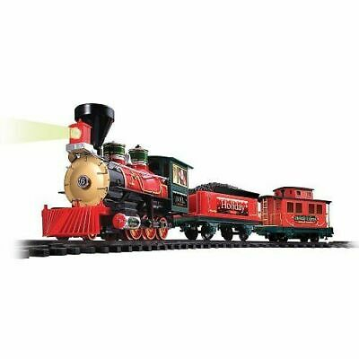 EZTEC Holiday Express Christmas 22 Piece Toy Train Set #62230