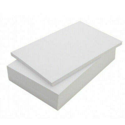 A3 80gsm White Plain Paper Graphics Art Drawing Print Quality 50 - 500 Sheets