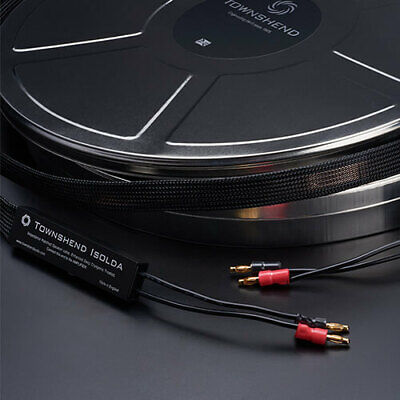 """Townshend Audio EDCT Isolda Speaker Cable 3M pair """"Any lengths available"""""""