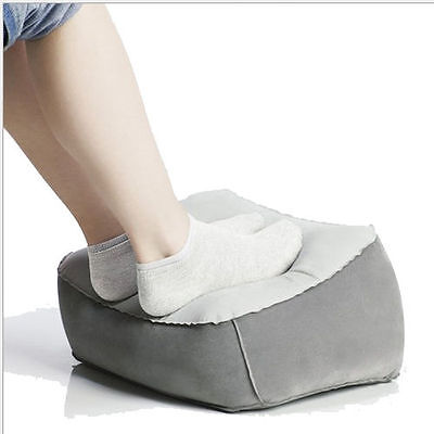 Stop feet ballooning with an inflatable foot stool
