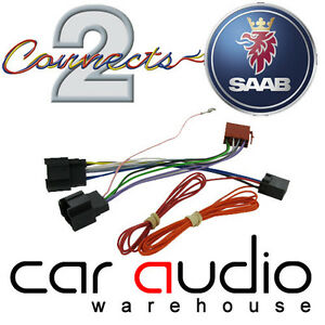 connects2 ct20sa03 saab 9 3 06 car stereo radio iso harness adaptor wiring lead ebay