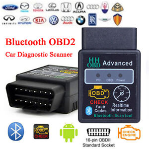 Bluetooth OBD II scan, diagnose, clear codes 100% NEW