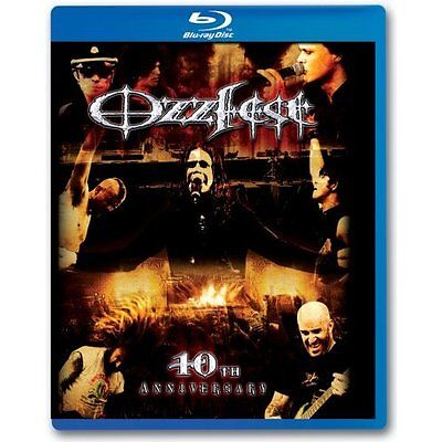 Ozzfest  10Th Anniversary Blu Ray With Various Artists Music   Concerts On