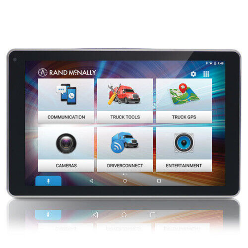 Rand McNally OverDryve 8Pro Truck GPS Integrates w/ Built-in Voice Assistant