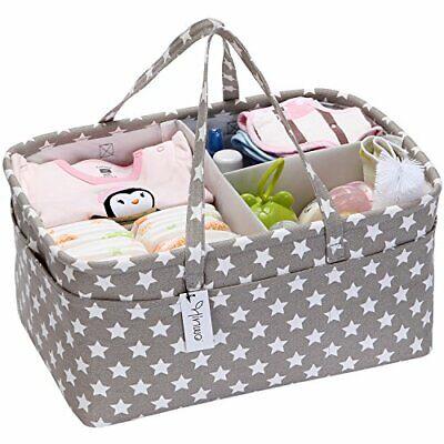 Cesta de almacenamiento para pañales de bebé organizador de coche cesta de...
