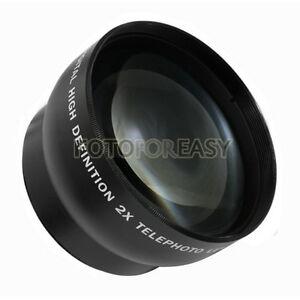 52mm-2-0X-TELE-Telephoto-Lens-for-Digital-Camera-2X-52