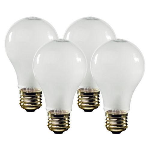 48 Incandescent Light Bulb Bulbs A19 Soft White 40 Watts 40W