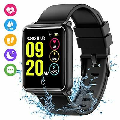 SMART WATCH BRACELET A6 2019 Bluetooth Orologio per Android / IoS menu fitness
