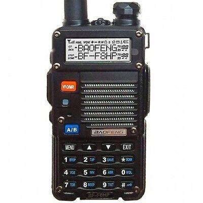 BaoFeng BF-F8HP Dual Band (VHF/UHF) Analog Portable Two-Way Radio HAM Amateur