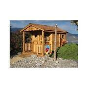 Outdoor Wood Playhouse