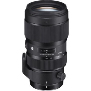 SIGMA ART 50-100mm F1.8 DC HSM for Canon EF-S mount