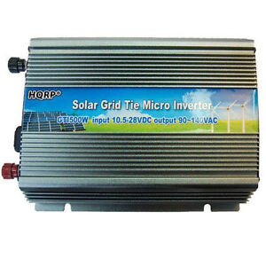 HQRP Micro Grid Tie Power Inverter MPPT Function For Home Solar Panel System