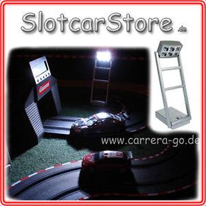 Tipp-Kick 4x Flutlicht Set auch Carrera GO EVO Digital Slotcar Floodlights