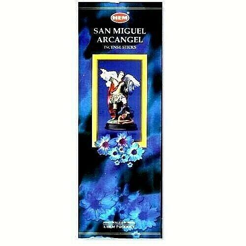 SAINT MICHAEL SAN MIGUEL HEM INCENSE 200 STICKS: 25 BOXES of 8 STICKS
