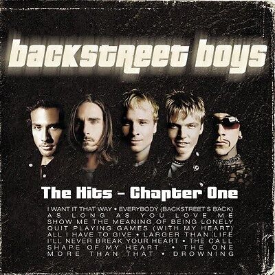 Backstreet Boys   Hits Chapter One  New Cd