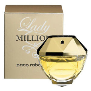 Paco Rabanne Lady Million 50ml EDP Spray Retail Boxed Sealed