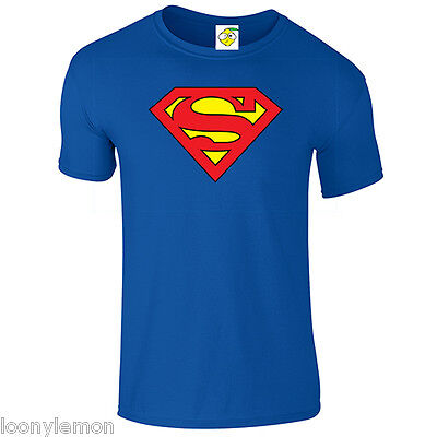 SUPERMAN T SHIRT, RETRO, SUPERHERO FATHERS DAY, GOONIES SLOTH HALLOWEEN COSTUME